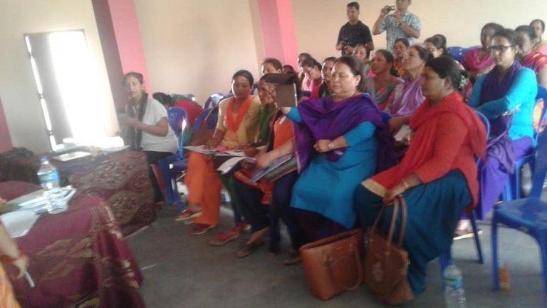 Orientation program women participants